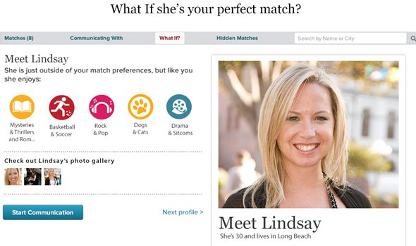 match.com website review